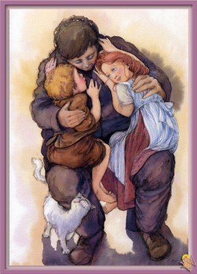 Моник Феликс. Иллюстрация к сказке Гансель и Гретель 14