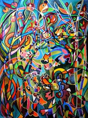Yosef Reznikov. --composition of a Jungle--
