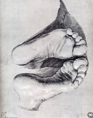 Albrecht Durer. Foot