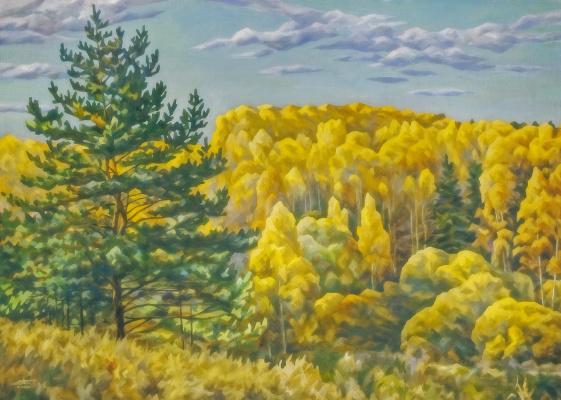 Andrei Ivanovich Borisov. Autumn farewell colors