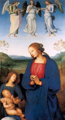 Пьетро Ваннуччи. Мадонна с младенцем