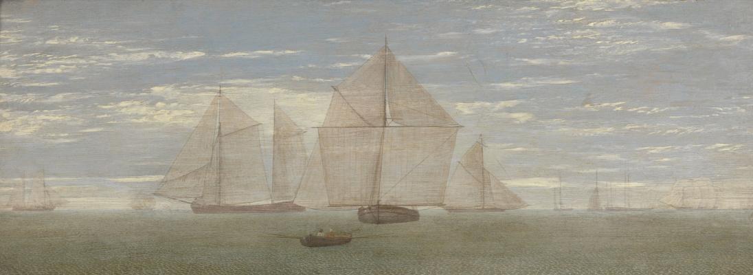 Ричард Дадд. Sailboats