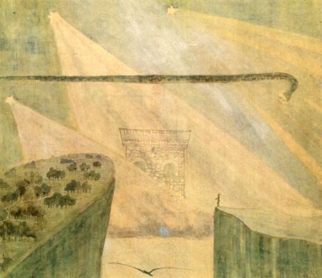 Mikalojus Konstantinas Ciurlionis. Andante (Sonata of the serpent)