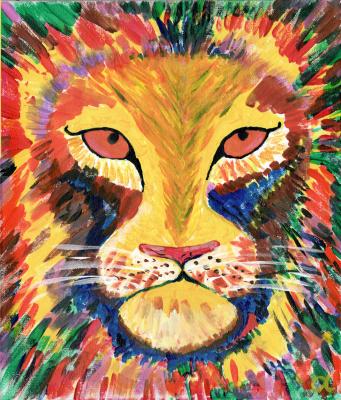 Nicodemus Alias. A lion