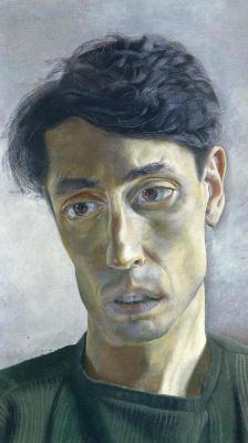 Lucien Freud. John milton