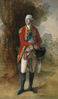 Thomas Gainsborough. His Royal Highness Prince William Henry, 1st Duke of Gloucester