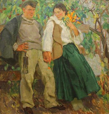 Fedor Grigorievich Krichevsky. Mining love