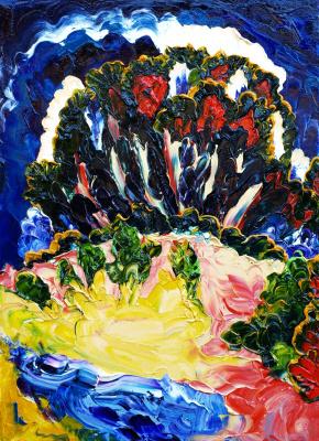 Alexander Ocher Kandinsky-DAE. Quarry (Triptych - Bar forest)