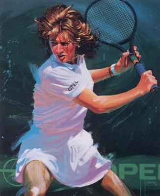 Альфонс Киффер. Большой теннис