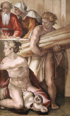 Микеланджело Буонарроти. Фрески