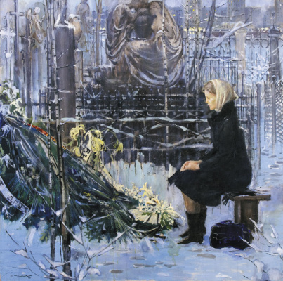 Yuri Ivanovich Pimenov. Twilight