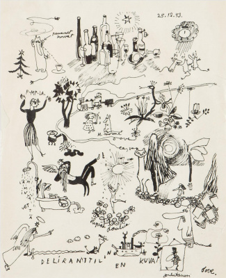 Tove Jansson. Christmas dances