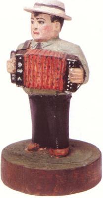 Alexander Vasilyevich Suvorov. Harmonist in a hat