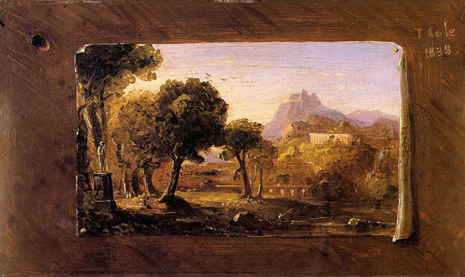 Thomas Cole. Arcadia