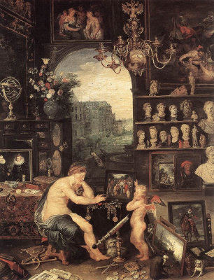 Jan Bruegel The Elder. Vision. Fragment