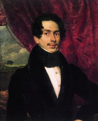 Orest Adamovich Kiprensky. Portrait of Prince F. A. Golitsyn