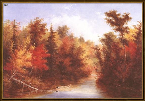 Осенняя сцена