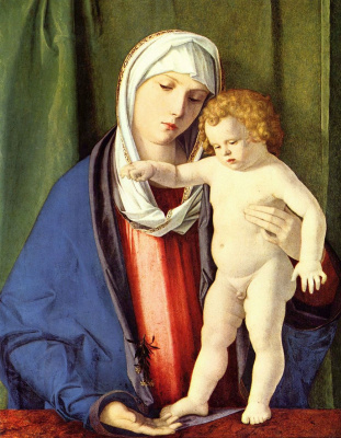 Giovanni Bellini. Madonna and Child