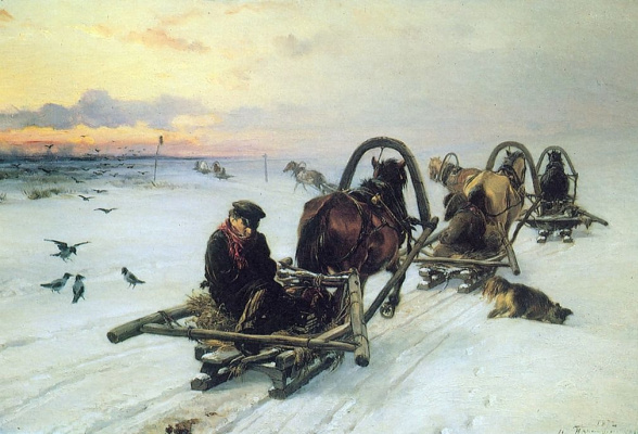 Illarion Mikhailovich Pryanishnikov. Empty