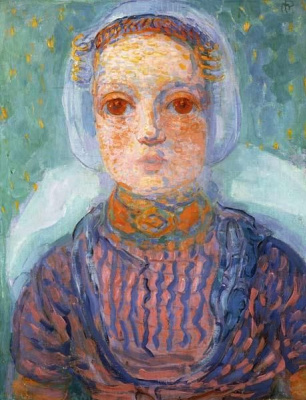 Piet Mondrian. Dutch girl