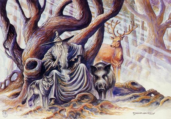 Паскаль Можеру. Под деревом