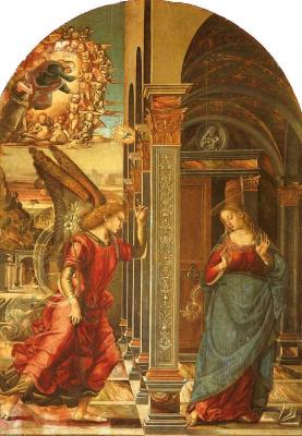 Luke Signorelli. The Annunciation