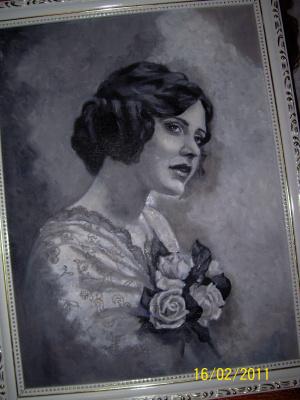 LENA Levskay(ړײ)ღ. Девушка с розами