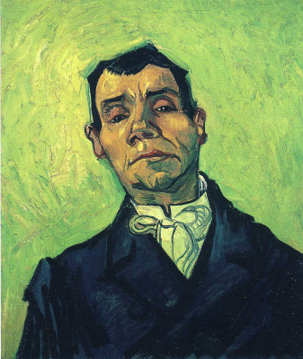 Vincent van Gogh. The portrait of Mr. Gino