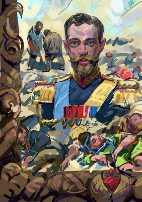 Igor Vladimirovich Komarov. False mirror. Khadynka