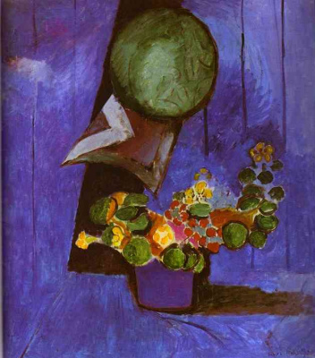 Henri Matisse. Flowers and ceramic plate