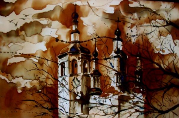 Roman Andreevich Zakharov. Totma. Late fall.