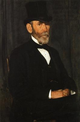 Джозеф Декамп. Джентльмен в шляпе