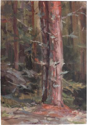Arkady Pavlovich Laptev. Pine