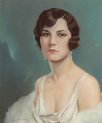 Альберто Варгас. Портрет девушки Зигфельда.