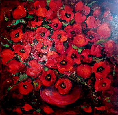 Oksana Viktorovna Zalevskaya. Poppies