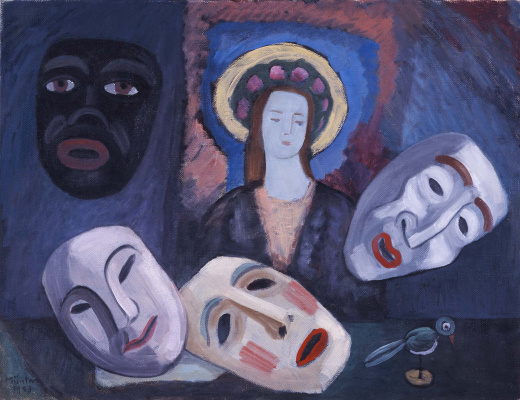 Gabriele Münter. Mask and icon