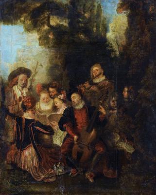 Antoine Watteau. Pastoral Concert
