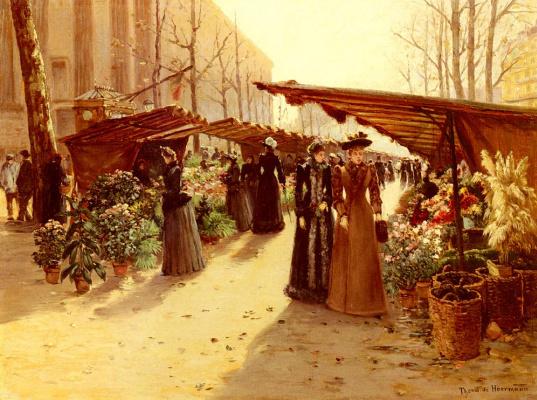 Теодор фон Хоерманн. Выбор цветов
