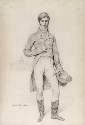 Jean Auguste Dominique Ingres. Lord Graham, Thomas Philip Robinson