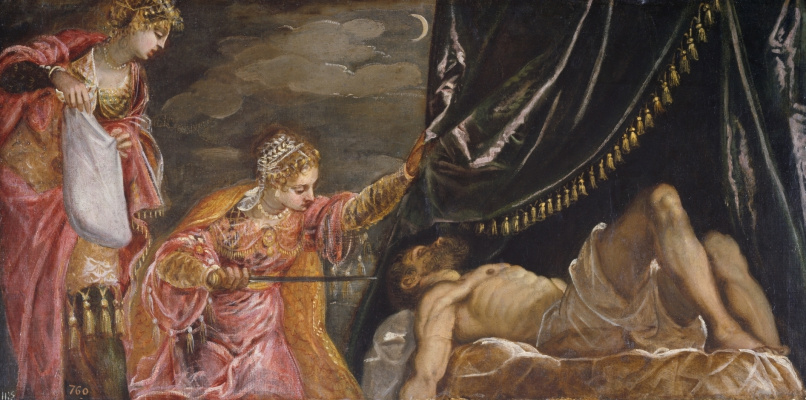 Jacopo Tintoretto. Judith and Holofernes