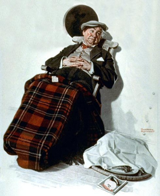 Norman Rockwell. Stay