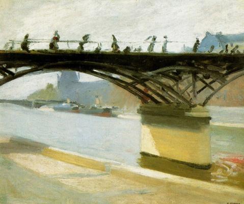 Edward Hopper. The Pont des arts