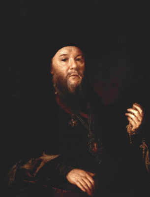 Vasily Andreevich Tropinin. Portrait of Archimandrite Theophan