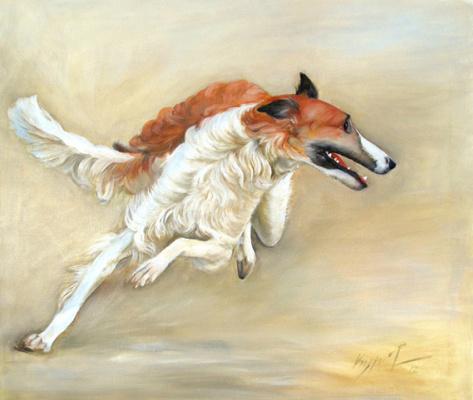 Alexander Pavlovich Kurganov. Greyhound