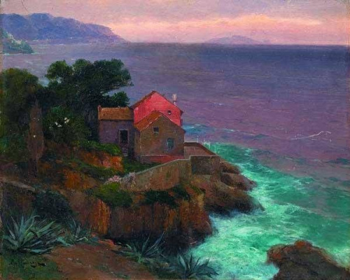 Alexey Vasilyevich Ganzen. Maison sur la côte dalmate