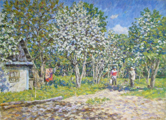 Urii Parchaikin. A day in the country