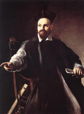 Michelangelo Merisi de Caravaggio. Portrait Of Maffeo Barberini