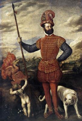 Портрет мужчины в костюме воина (Аллегория контроля)