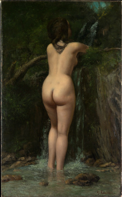 Gustave Courbet. The Source