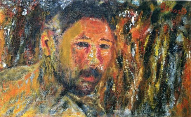 Pierre Bonnard. Portrait of a man